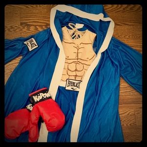 Kids Everlast Boxer Costume.